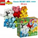 LEGO - DUPLO Classic Heart Box 10909 (80 Pieces)