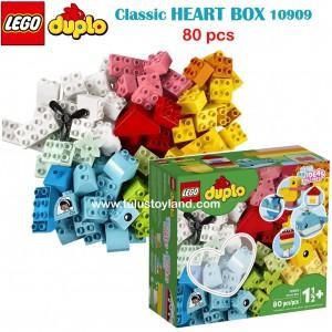 LEGO - DUPLO Classic Heart Box 10909 (80 Pieces)