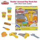 Play Doh - Toolin' Around Toy Tools Set for Kids with 3 Non-Toxic Colors
