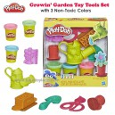 Play Doh - Growin' Garden Toy Gardening Tools Set for Kids with 3 Non-Toxic Colors
