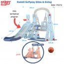 Happy Play – WM 19072 Rabbit Soft Play Silde & Swing