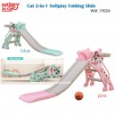 Happy Play - WM 19024 Cat 2 in 1 Softplay Folding Silde