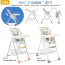 Joie – meet Snacker 2in1 Highchair