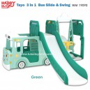Happy Play - Tayo 3 in 1 Bus Silde & Swing WM 19090