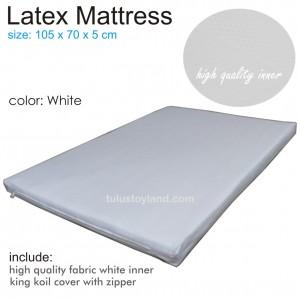 Latex Mattress 105 x 70 x 5 cm fit to Pliko Next to Me