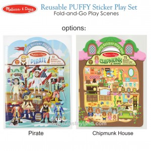 Melissa & Doug – Reusable Puffy Sticker Play Set