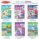 Melissa & Doug - Mess Free Glitter Foam Sticker and Scenes