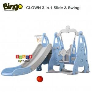 Bingo – CLOWN 3 in 1 Slide & Swing Basketball