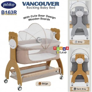 Pliko -  Vancouver Rocking Baby Bed with Music & Light