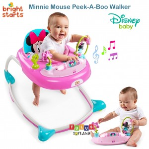 Bright Starts –Minnie Mouse PeekABoo Walker Disney Baby