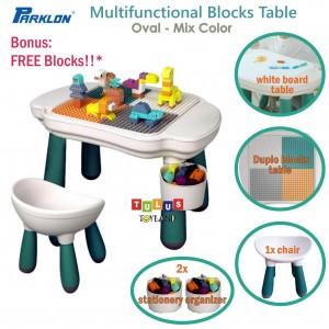 Parklon - Multifunctional Blocks Table Whiteboard Oval