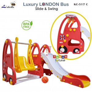 Labeille – Luxury LONDON Bus Slide & Swing KC 517C