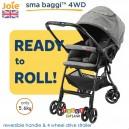 Joie – Sma Baggi 4WD Stroller Chromium