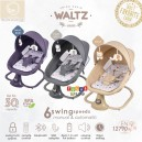 Babyelle – WALTZ 2in1 Automatic & Manual Baby Swing Chair