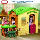 Little Tikes - Picnic on the Patio Playhouse (Natural)