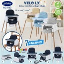 Pliko – VELO LX Baby Booster & High Chair HC-562