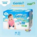 Nepia GENKI – Premium Soft Pants Size M