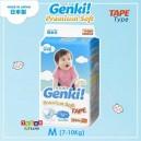 Nepia GENKI – Premium Soft TAPE Size M