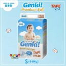 Nepia GENKI – Premium Soft TAPE Size S