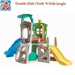 Grow n Up - Double Slides Climb & Hide Jungle