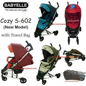 Baby Elle – Cozy Stroller S602 (Model Baru)