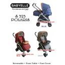 Baby Elle – Polaris Stroller S323 Model Baru