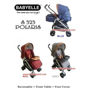 Baby Elle – Polaris Stroller S323 (Model Baru)