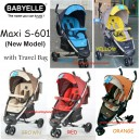 Baby Elle – Maxi Stroller S601 (Model Baru)