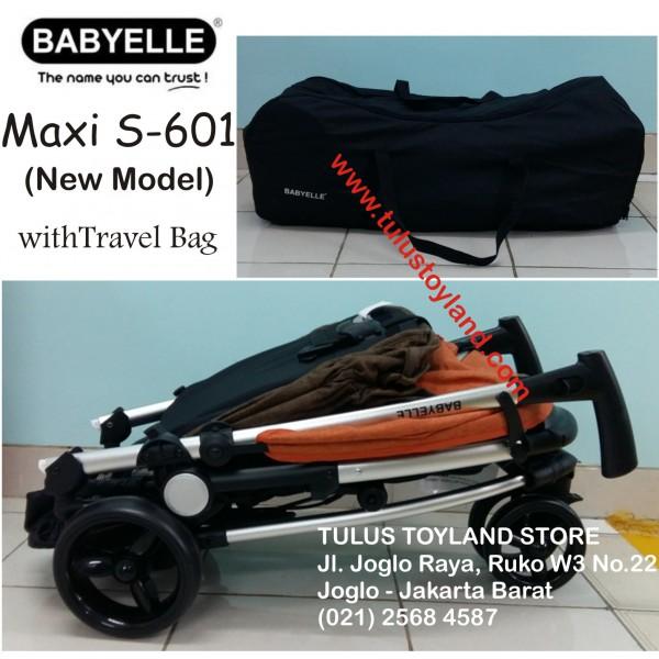 Baby Elle - Maxi Stroller S601 (Model Baru)