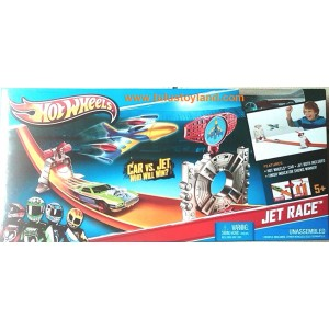 Hot Wheels Jet Race Track Set