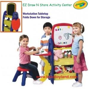 Crayola – EZ Draw N Store Activity Center