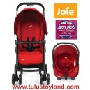 Joie - Juva Aire Travel System in Poppy Red