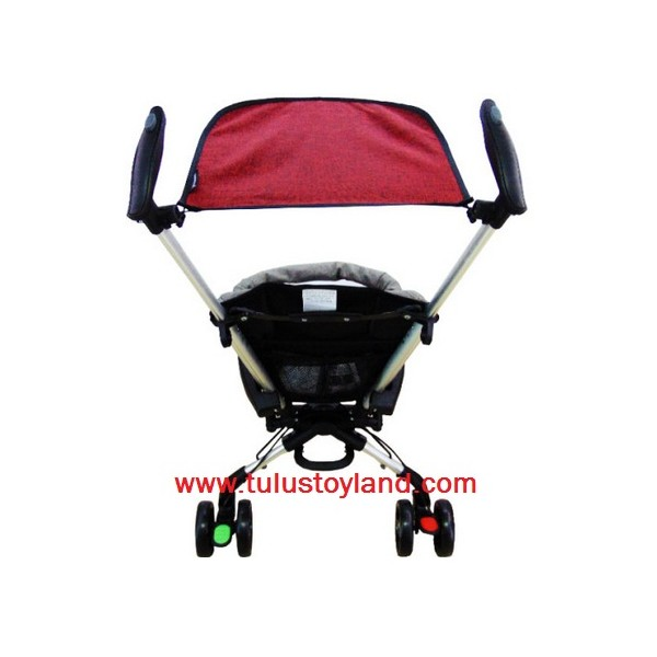 Home · Babyelle Fold Up Infant Seat With Melodies And Soothing Vibrations Baby Elle Kursi Lipat Bayi Hijau; Page - 3. Baby Elle Wave Stroller S300 in Red