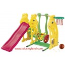 Ching Ching - Rabbit Slide, Ladybug Swing & Basketball SL 08