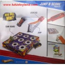 Hot Wheels - Jump and Score Track Set
