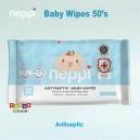 Neppi - Antiseptic Baby Wipes 50s (1-pk)
