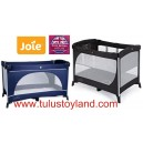 Joie - Allura Travel Cot with Bassinet in Blue