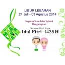 Libur Lebaran 2014