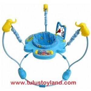 L' abeille - Circus Blue Baby Jumper