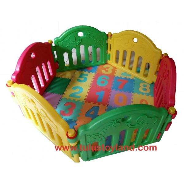 Labeille Baby Play Yard Kc002 Pagar Bermain Anak