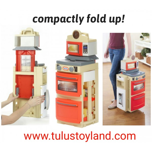 Little Tikes Cook N Store Kitchen Role Play Kitchen