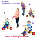 Little Tikes - Learn to Pedal 3 in 1 Trike