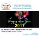 Libur Tahun Baru 2017
