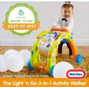 Little Tikes - Light n Go 3 in 1 Activity Walker