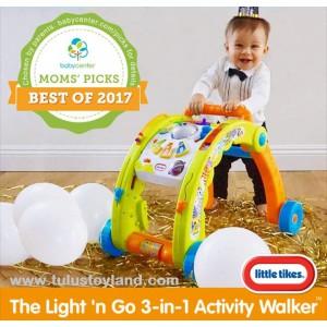 Little Tikes - Light n Go 3 in 1 Activity Walker