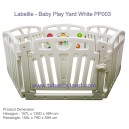 L'abeille – Baby Play Yard White PP003