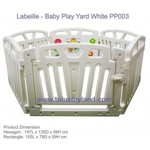 L'abeille – Baby Play Yard White PP003