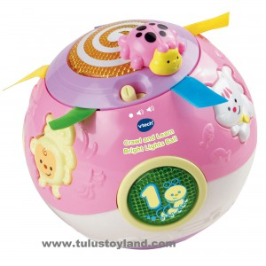 Vtech - Crawl and Learn Bright Lights Pink Ball