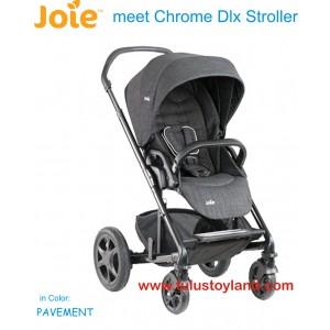 Joie – Chrome DLX Stroller in Pavement