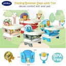 Pliko - Folding Booster Seat with Toy